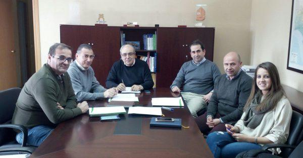 Reunión con el Presidente de la Confederación Hidrográfica del Guadalquivir