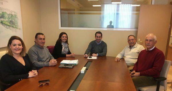 Reunión de trabajo sobre el regadío en Jaén