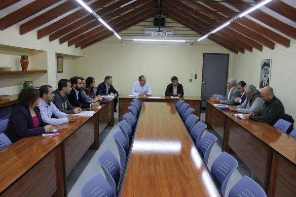 Reunión de trabajo con el PSOE de Jaén