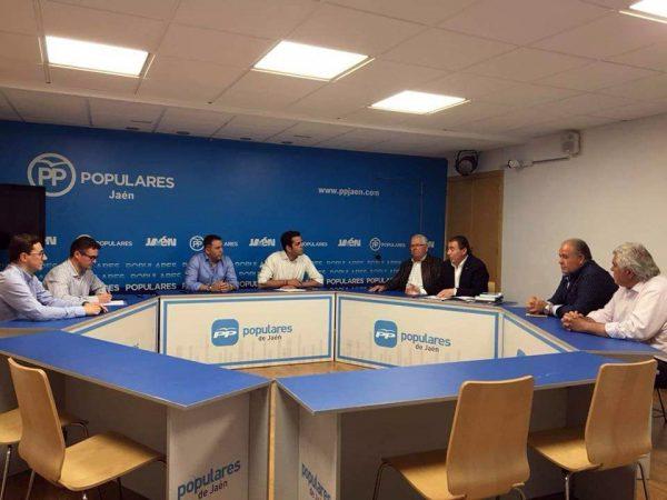 Reunión con el Partido Popular de Jaén