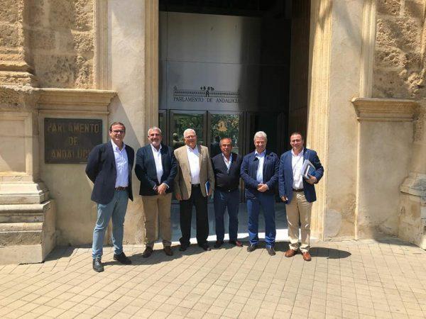 Reunión con Ciudadanos en el Parlamento Andaluz