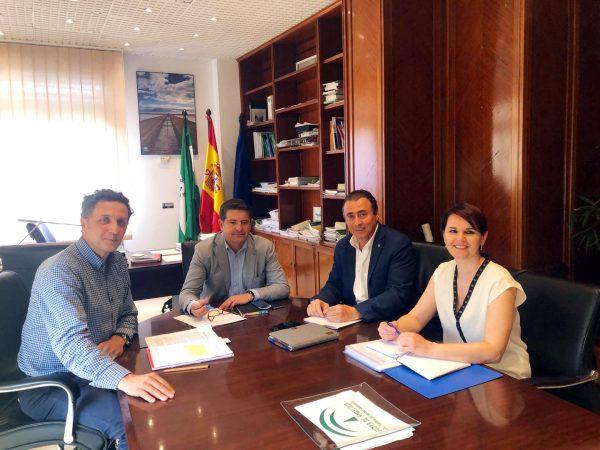 Reunión con el Director General de Planificación y Gestión del Dominio Público Hidráulico