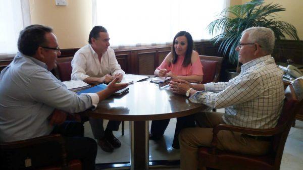 Reunión con la nueva subdelegada del Gobierno en Jaén