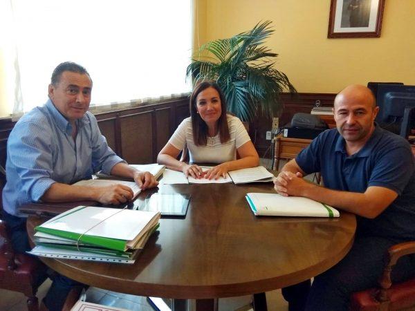 Reunión de trabajo con la Subdelegada del Gobierno en Jaén