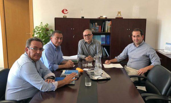 Nueva reunión del presidente de la CHG Joaquin Páez con AREDA.