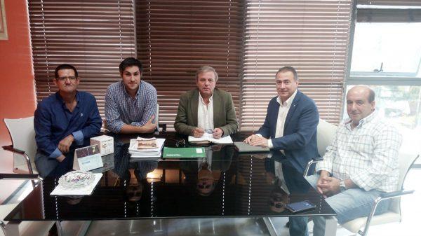 Reunión con el Delegado de Medio Ambiente de Jaén