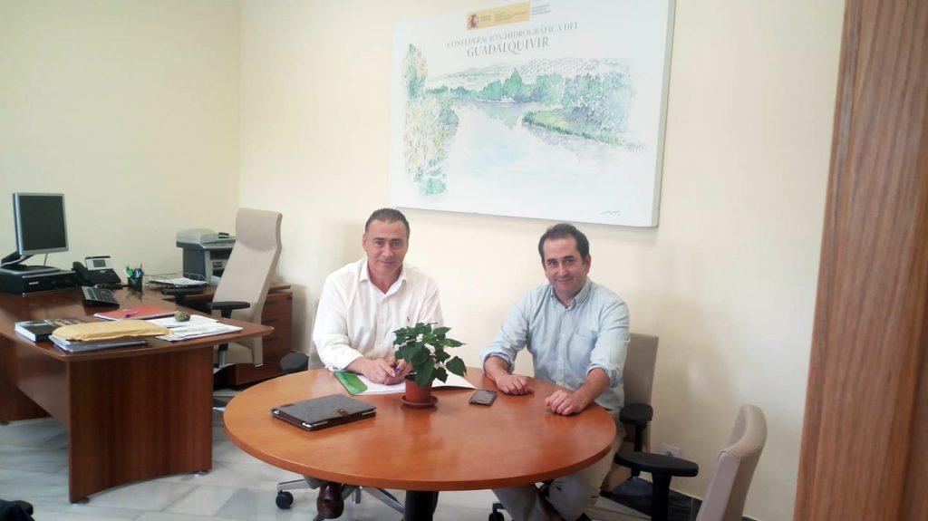 reunion comisario aguas confederacion hidrografica guadalquivir
