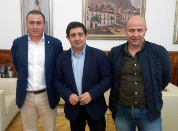 Reunión con el presidente de la Diputación de Jaén
