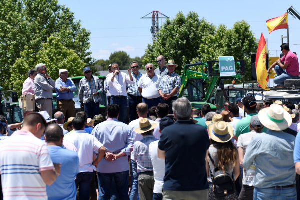 AREDA, defendiendo la agricultura y los regadíos.