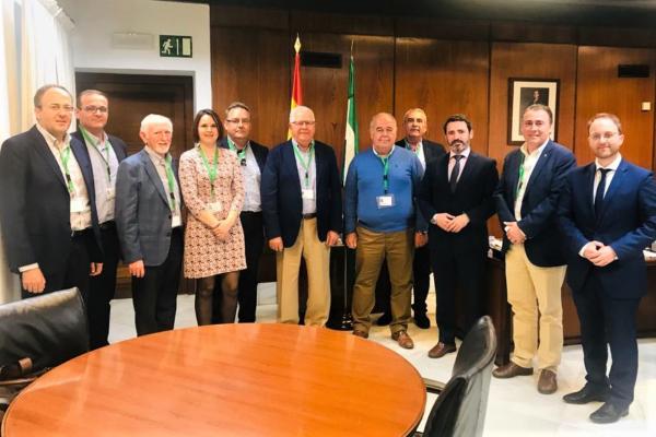 Nueva reunión de AREDA con Parlamentarios Andaluces.