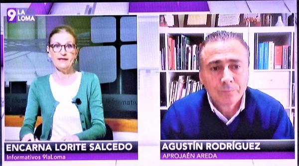 Entrevista Agustín Rodríguez APROJAÉN-AREDA, 9 LA LOMA TV. La regularización de los regadíos de olivar 2ª Parte.