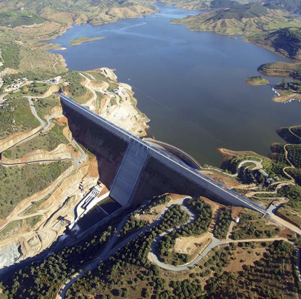 Los embalses del Sistema de Regulación General del Guadalquivir siguen embalsando agua y superan ya los 2.500 hm3.