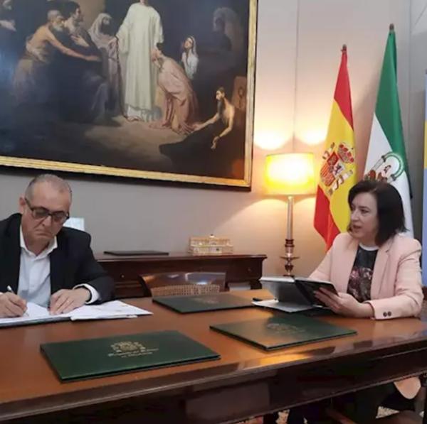 La delegada del Gobierno pide a la CHG considerar un posible aumento en la dotación de agua para el campo andaluz