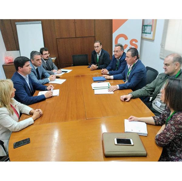 La regularización de los regadíos de olivar acogidos a riegos extraordinarios llega al Parlamento de Andalucía de la mano de Ciudadanos